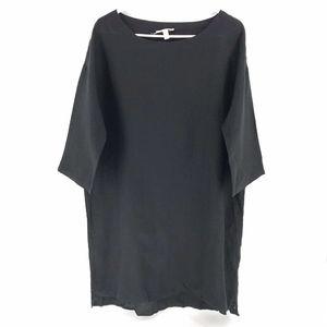 Eileen Fisher Oversized Lagenlook Dress Organic